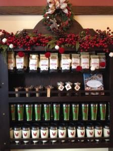 Ellie's shelf of coffee